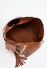 Chain Strap Tasseled Hobo Handbag alternate view