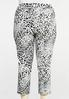 Plus Size Cropped Snow Leopard Pants alternate view