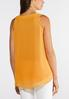 Plus Size High Low Puff Tank alternate view