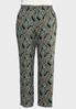 Plus Size Ornate Print Palazzo Pants alternate view