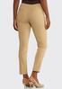 Petite Cropped Slim Knit Pants alternate view
