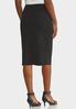 Plus Size Knit Pencil Skirt alternate view
