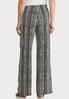 Petite Striped Bow Wide Leg Pants alternate view
