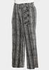 Plus Petite Striped Bow Wide Leg Pants alternate view