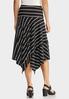 Plus Size Striped Hanky Skirt alternate view