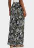 Plus Size Floral Puff Maxi Skirt alternate view