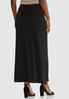 Plus Size Animal Button Midi Skirt alternate view