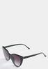 Black Cateye Sunglasses alternate view