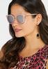Pink Mirrored Sunglasses alternate view