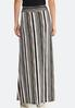 Striped Seamed Maxi Skirt alternate view
