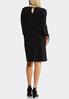 Ruched Tied Sleeve Dress alternate view