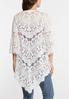 Plus Size Ivory Lace Kimono alternate view