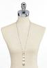 Graduated Pearl Pendant Necklace alternate view