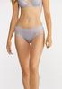 Plus Size Lace Inset Hipster Panty Set alternate view