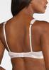Plus Size Ruffle Lace Push- Up Bra Set alternate view
