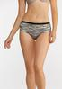 Abstract High Waist Panty Set alternate view