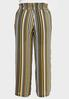 Plus Size Smocked Waist Palazzo Pants alternate view