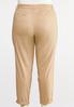 Plus Size Utility Chino Pants alternate view