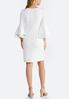 White Bell Sleeve Dress alternate view