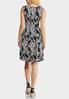 Paisley Print Hardware Dress alternate view