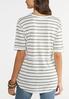 Seamed Stripe Tunic alternate view