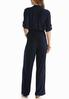 Button Front Solid Jumpsuit alternate view