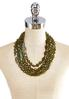 Layered Olive Shell Necklace alternate view