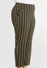 Plus Size Gold Stripe Pants alternate view