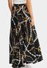 Plus Size Chain Print Maxi Skirt alternate view