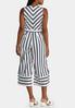 Striped Cropped Jumpsuit alternate view