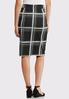 Plaid Pencil Skirt alternate view