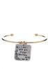Inspirational Charm Cuff Bracelet alternate view