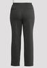 Plus Size Slim Leg Ponte Pants alternate view