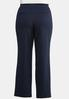 Plus Size Straight Leg Ponte Pants alternate view