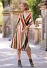 Striped Wrap Dress alternate view