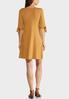 Plus Size Tie Split Sleeve Dress alternate view