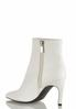 White Center Seam Ankle Boots alternate view