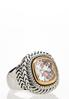 Cubic Zirconia Two- Tone Ring alternate view