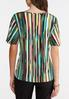 Plus Size Abstract Cinch Top alternate view