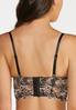 Plus Size Lace Corset Bra Set alternate view