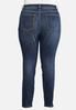 Plus Size Crosshatch Jeans alternate view
