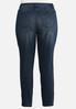 Plus Size Curvy Dark Skinny Jeans alternate view