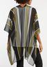Vertical Stripe Kimono alternate view