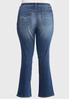 Plus Size Dark Wash Bootcut Jeans alternate view