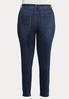 Plus Size Dark Wash Skinny Jeans alternate view