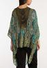 Green Crochet Back Kimono alternate view