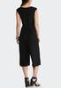 Cropped V- Neck Jumpsuit alternate view