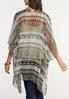 Olive Paisley Stripe Kimono alternate view