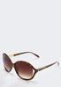 Tortoise Rock Glitter Sunglasses alternate view