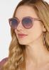 Shimmer Side Purple Sunglasses alternate view